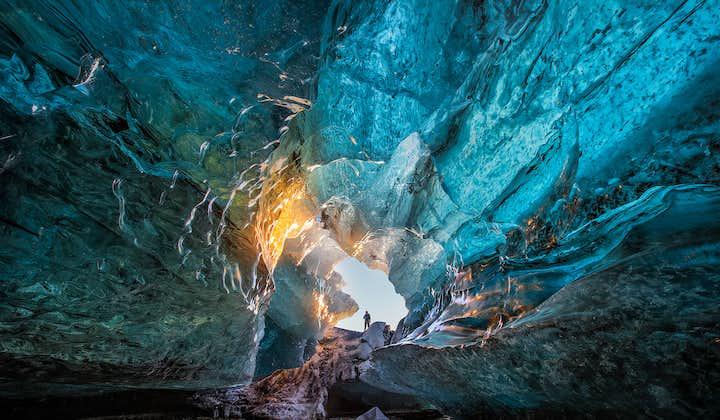 2일 겨울 투어   남부 해안, 요쿨살론, 천연 얼음 동굴