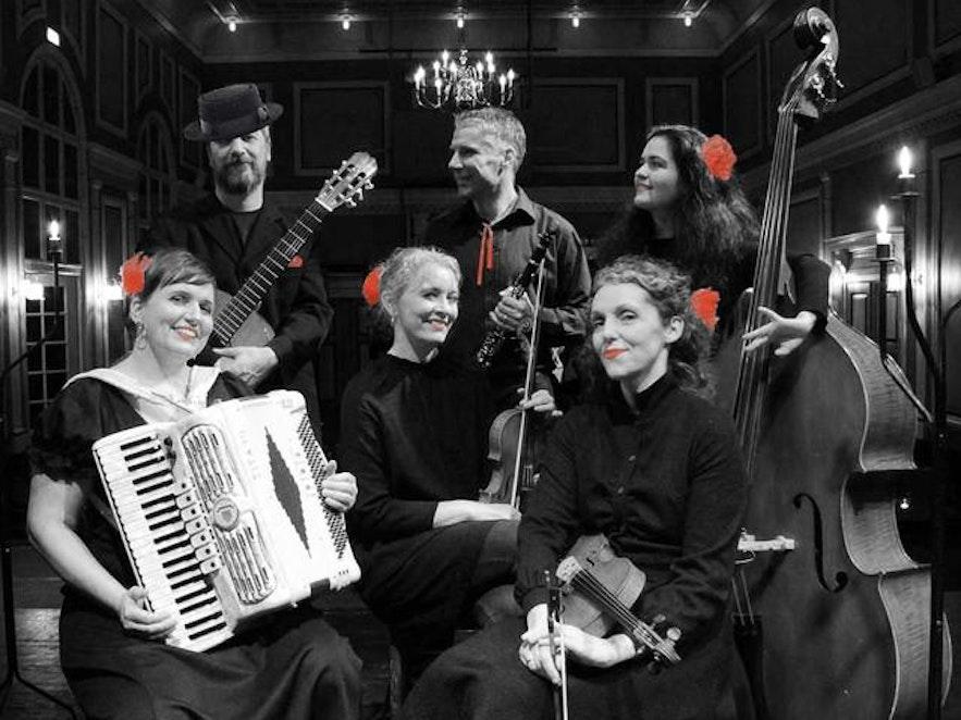 Mandólín Movie Music concert at Tjarnarbíó during Reykjavik Culture Night