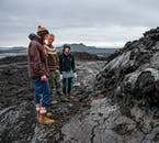 The lava formations around Lake Mývatn are hunting and eerie to look at.