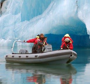 Rejs łodzią Zodiac po lagunie lodowcowej Jokulsarlon
