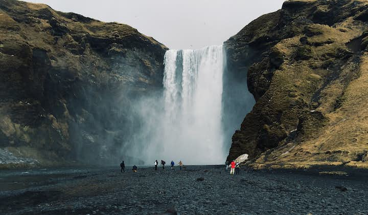 The mighty Skógafoss waterfall is one of Iceland's most sought out natural attractions.