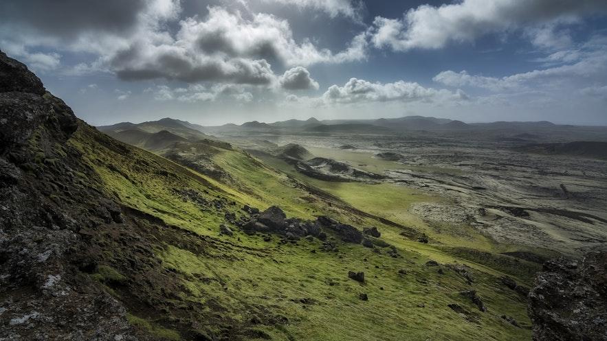 Reykjanes slopes