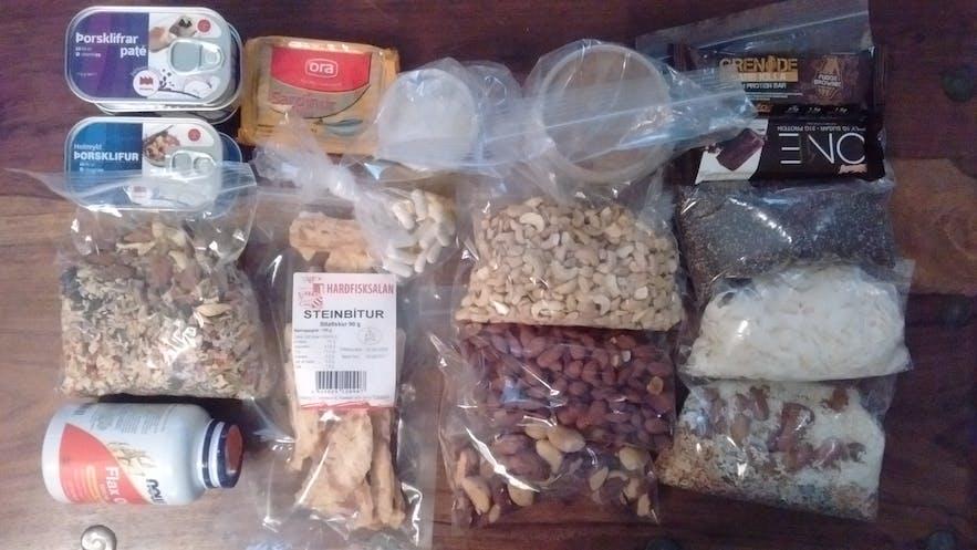 Ketonic food pack