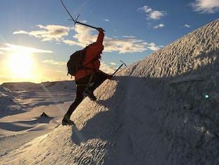 솔헤이마요쿨 빙하 하이킹