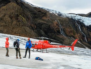 Helicopter Ride & Glacier Hike from Reykjavik