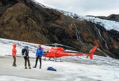 Helicopter Ride & Glacier Hike from Reykjavik