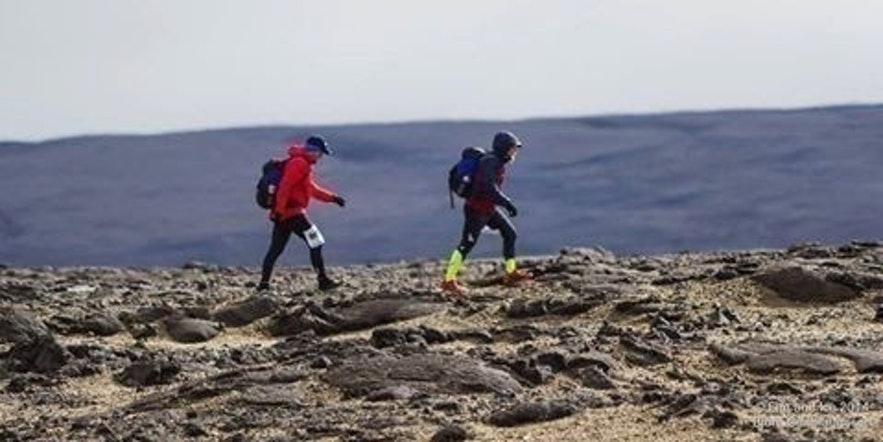 Running in the Fire & Ice Ultra for the CFC research fund