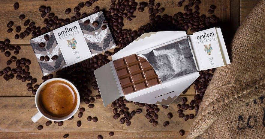 冰岛手工设计巧克力-咖啡口味