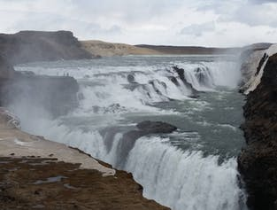 Golden Circle minibus tour | With a visit to Faxi waterfall