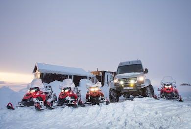 Snowmobile Tour on Langjokull Glacier | Departure From Gullfoss Waterfall