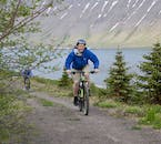 The Westfjords is a beautiful world of dramatic mountains, sparkling seascapes and forest, perfect for cyclists.
