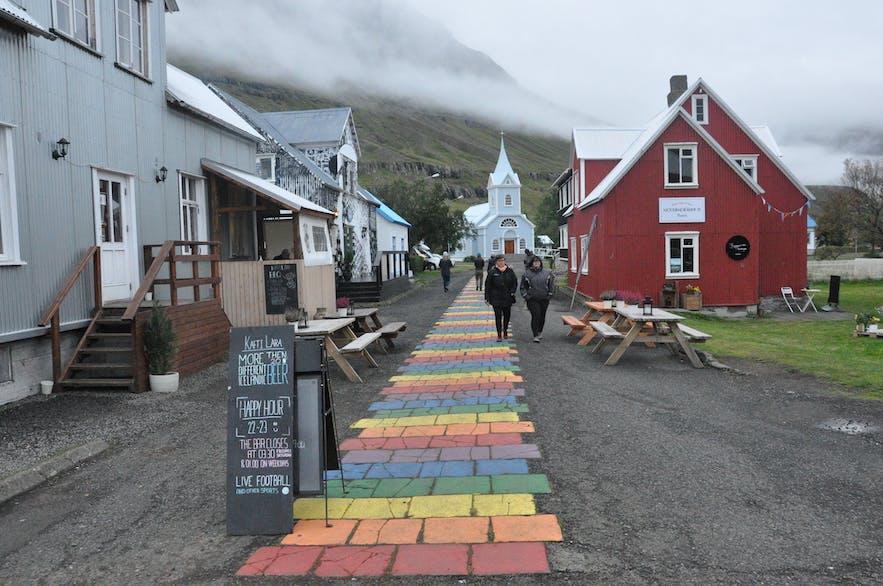 Downtown Seyðisfjörður