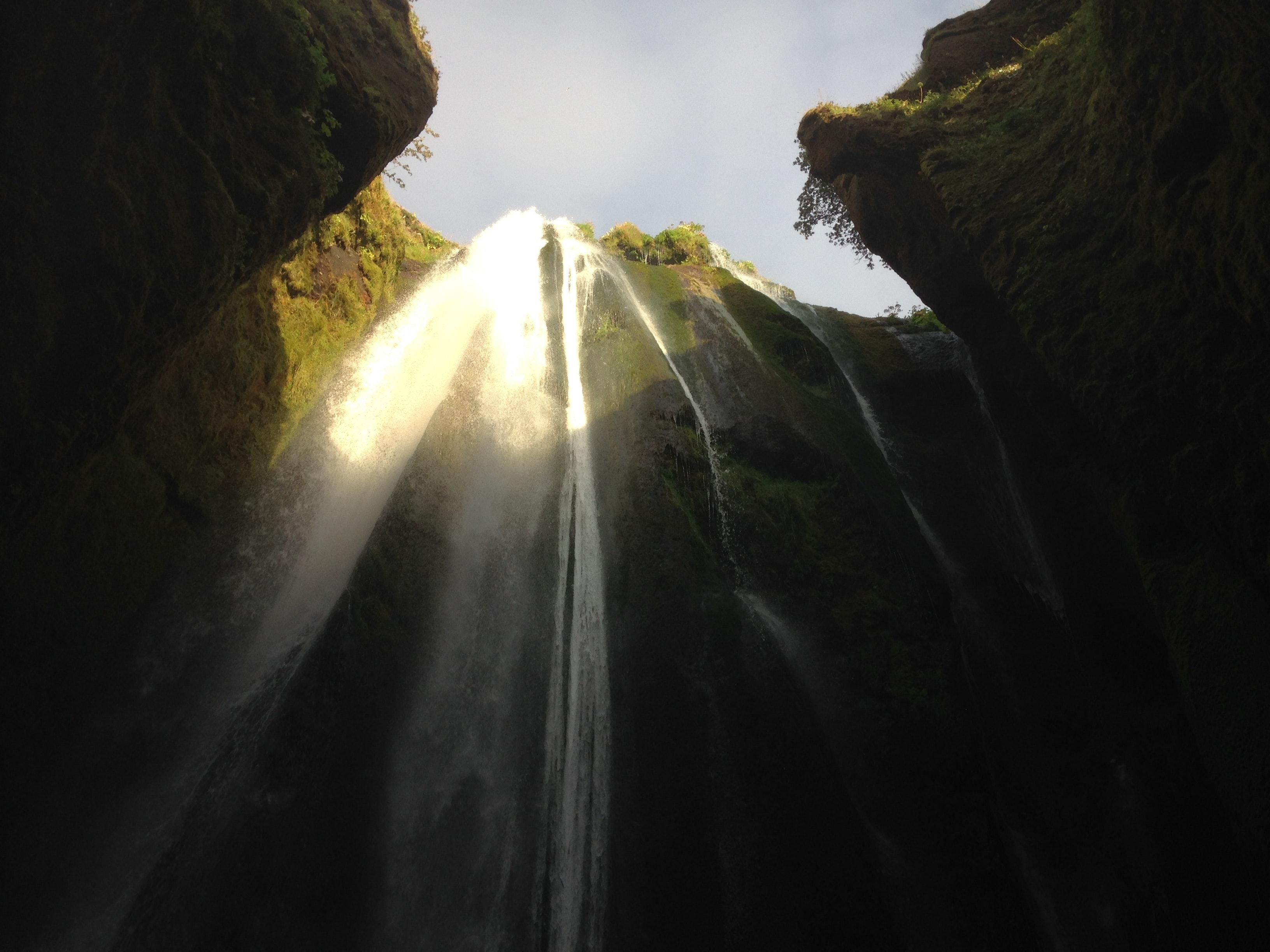 Gljúfrabúi - one of my favourite waterfalls in Iceland
