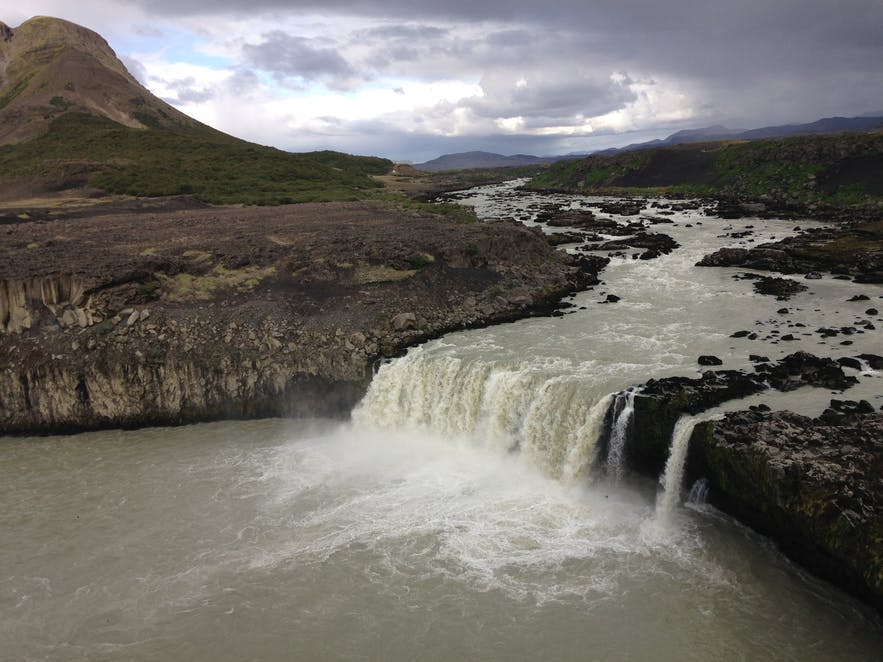 Þjófafoss waterfall in south Iceland