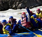 River rafting in Hvítá is a sure fire way to enjoy the summer season in Iceland.
