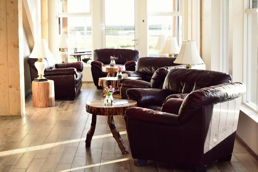 카틀라 호텔 내부 - 아이슬란드