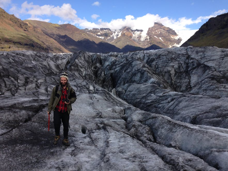 Glacier hiking on Svínafellsjökull