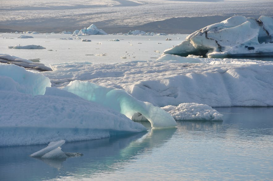 Jökulsárlón glacier lagoon always looks stunning