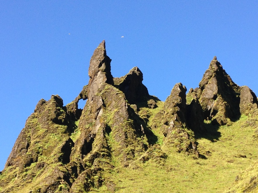 The nature in Þakgil leaves you in awe!
