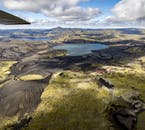 High above the earth, you will gain an entirely new perspective on the Icelandic landscape.