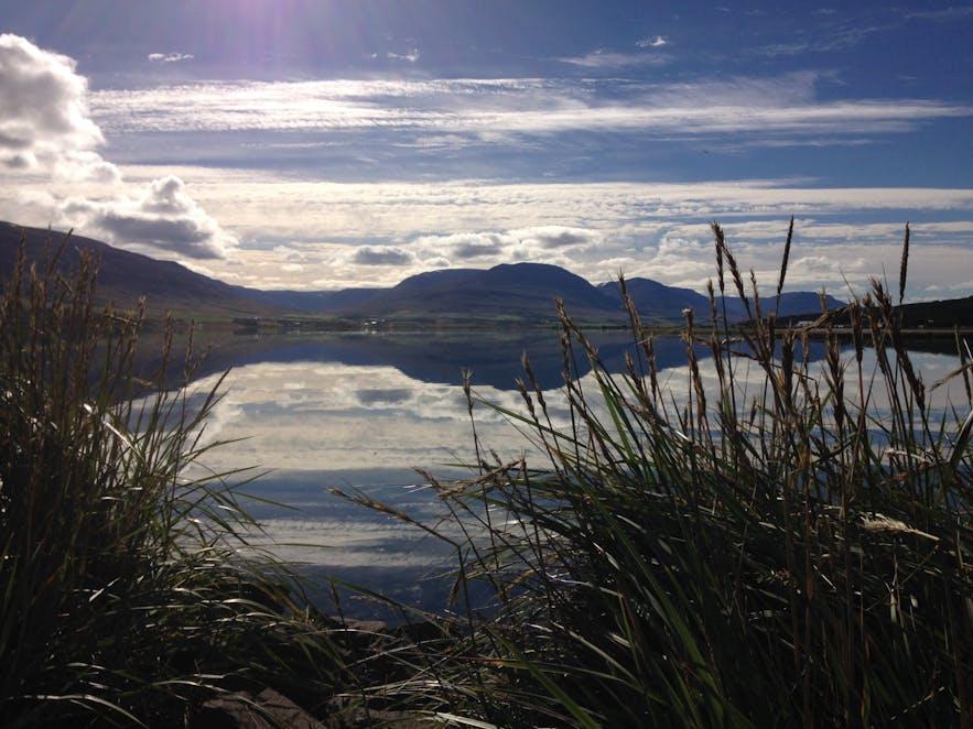 Gorgeous day in Akureyri, north Iceland