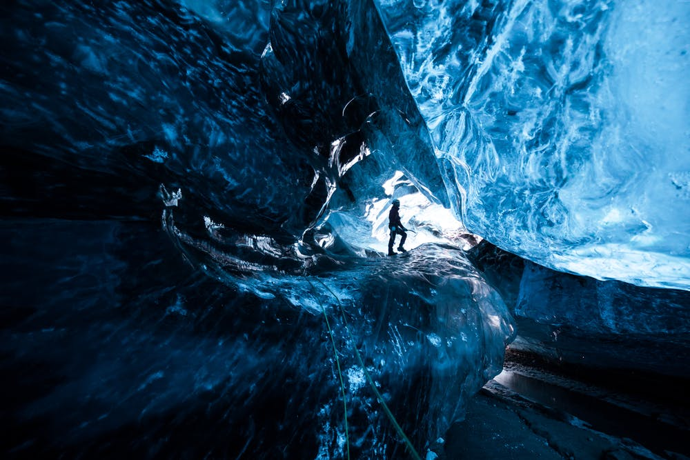 2 Day Tour to Jokulsarlon glacier lagoon with Blue Ice Cave & South Coast Waterfalls