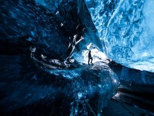 2 Day Tour to Jokulsarlon glacier lagoon with Blue Ice Cave & South Coast Waterfalls