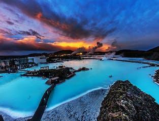 Cercle d'Or, Blue Lagoon et cratère volcanique de Kerid
