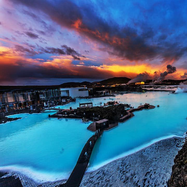 黄金圈+蓝湖温泉|全程小巴