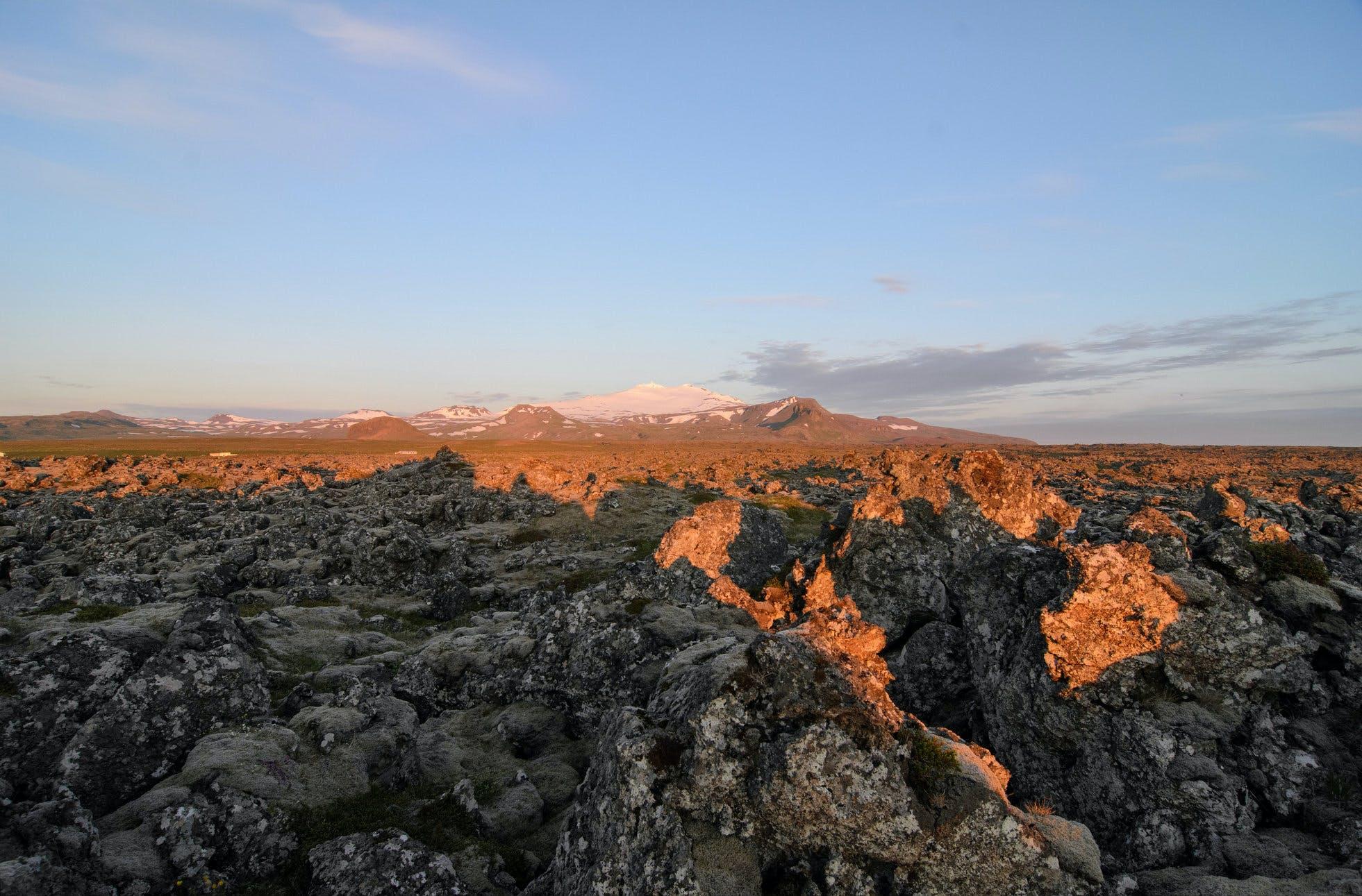 2 dni na półwyspie Snaefellsnes - jaskinia lawowa, wodospady, foki, gorące źródła