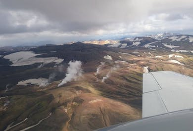 Combination Flying Tour   Lakagigar Craters, Grimsvotn & Glaciers