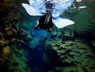 Snorkeling à Silfra et Cercle d'Or en petit groupe