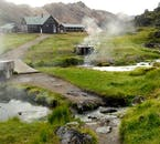 The geothermal activity in Landmannalaugar means naturally heated hot springs all year round when braving the Icelandic Highlands.