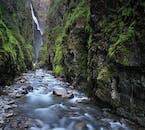 La randonnée de Glymur est non loin de Reykjavik