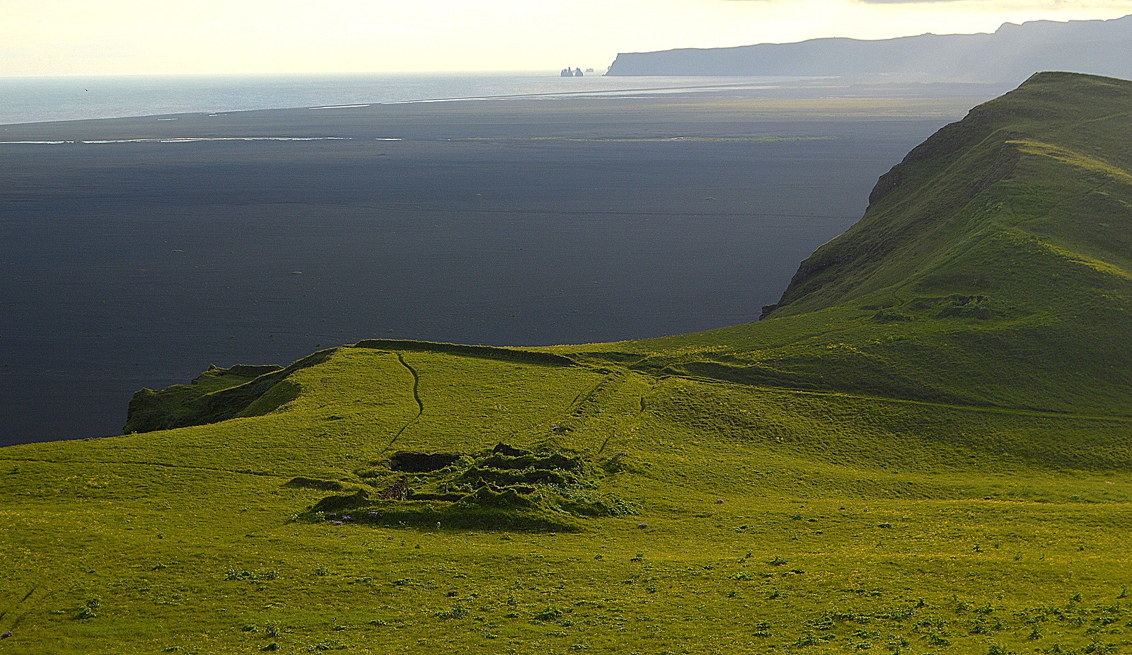 The Historical Hjörleifshöfði Promontory in South-Iceland - Part II - the Hike and the Inhabitants