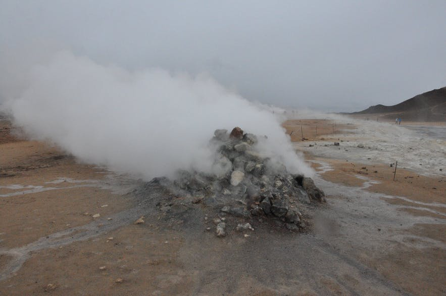 Námaskarð geothermal area, north Iceland