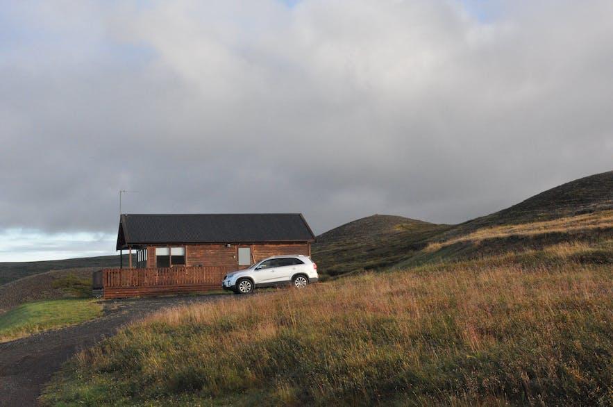 Great summercabin for rent at Hlíð by Lake Mývatn
