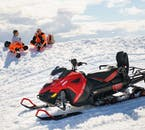 Nothing can beat that adrenaline rush after tearing up the landscape on a snowmobile.