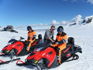 Snowmobile Tour on Langjokull Glacier from Reykjavik | Small Group