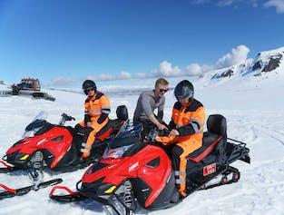 Snowmobile Tour on Langjokull Glacier from Reykjavik | Small Group