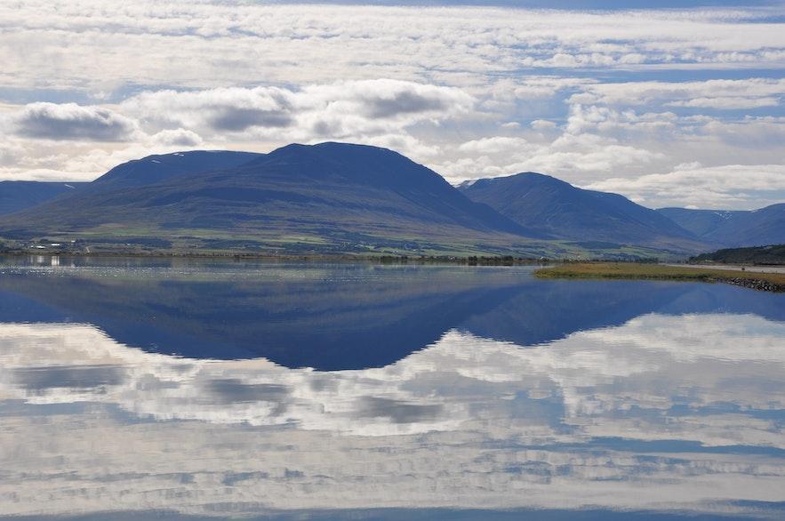 Stunning views outside Akureyri