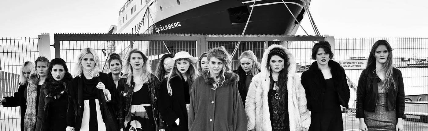 Daughters of Reykjavík, Icelandic all female band