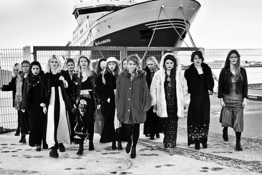 Daughters of Reykjavík, Icelandic all female band