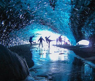 크리스탈 동굴   요쿨살론 빙하의 푸른 얼음 동굴 탐험