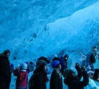 Aspiring and professional photographers alike will have a field day in Vatnajökull glacier's ice caves.