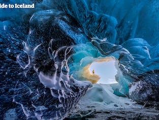 Escursione alla grotta di ghiaccio nel Ghiacciaio Vatnajökull