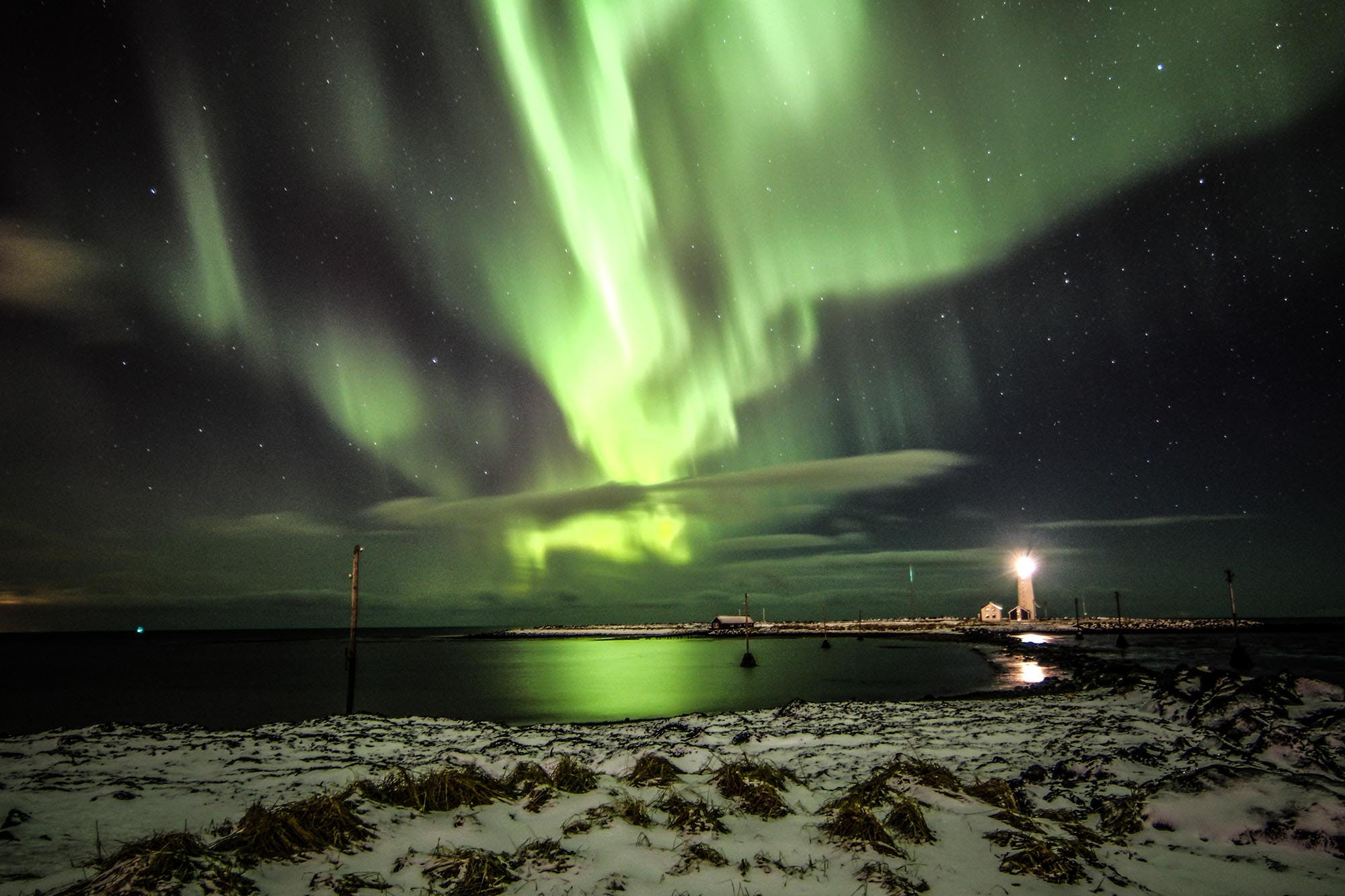 All Day South Coast Tour with Northern Lights Hunt