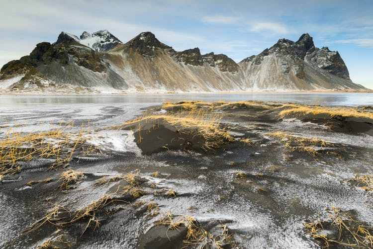 The mountain Vestrahorn in East Iceland is dramatic, haunting and beautiful all at once.