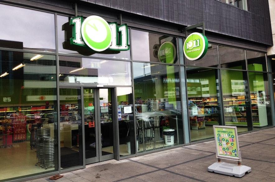 冰岛购物便利店10-11并不便宜