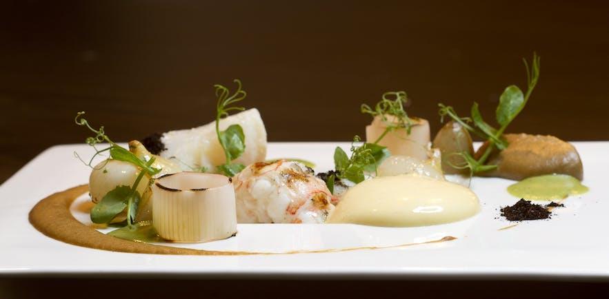 plat dans un restaurant islandais